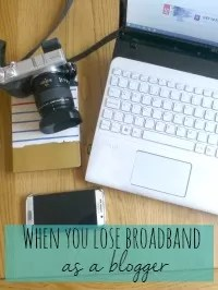 blogger without broadband