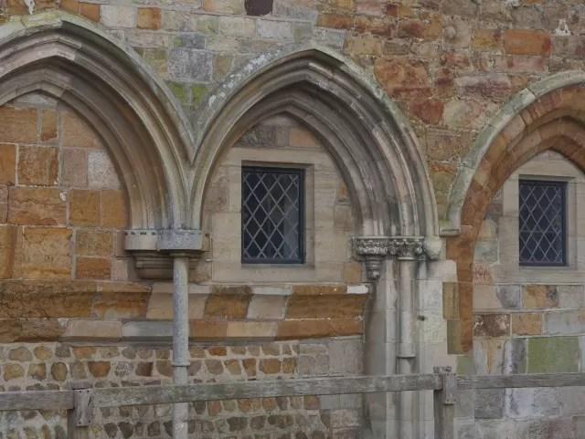 archways at Michelham priory
