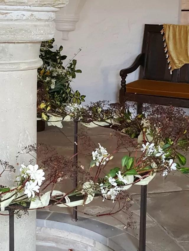 flowers at michelham priory
