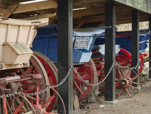 old wagons at michelham priory