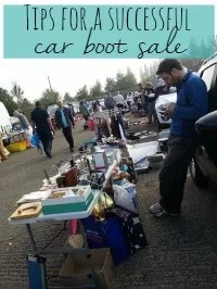 car boot sale as a buyer