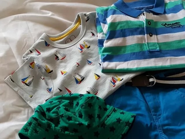 Mothercare boys summer clothes