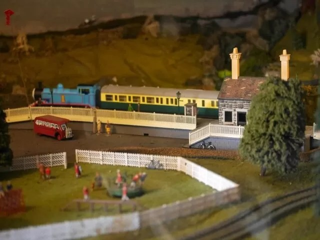 model railways at Eastbourne
