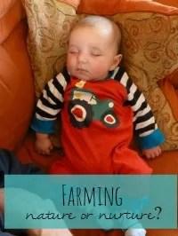 farming nature or nurture