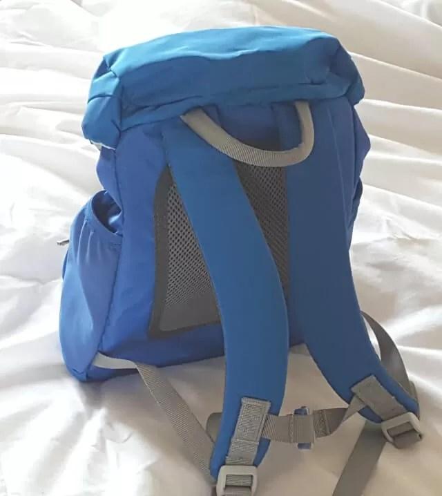 reverse of LittleLife daypack
