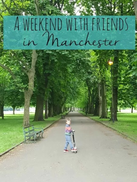 A weekend with friends in Manchester - Bubbablue and me
