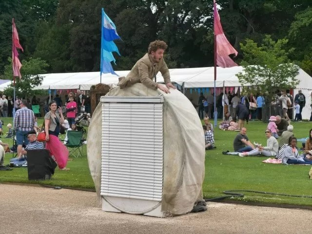 Frantic performed at Feast Waddesdon