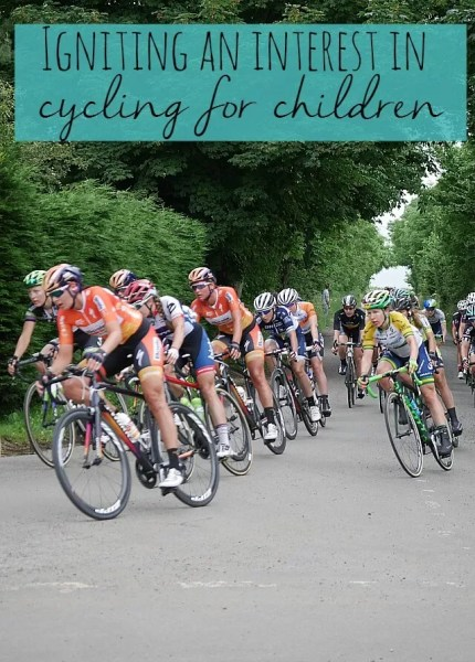 Igniting an interest in cycling for children - Bubbablue and me