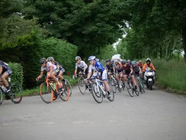Pelaton on second stage of Women's tour 2016