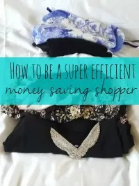 money saving shopper