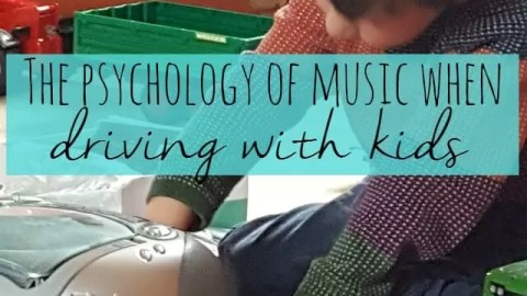 The psychology of music while driving with kids