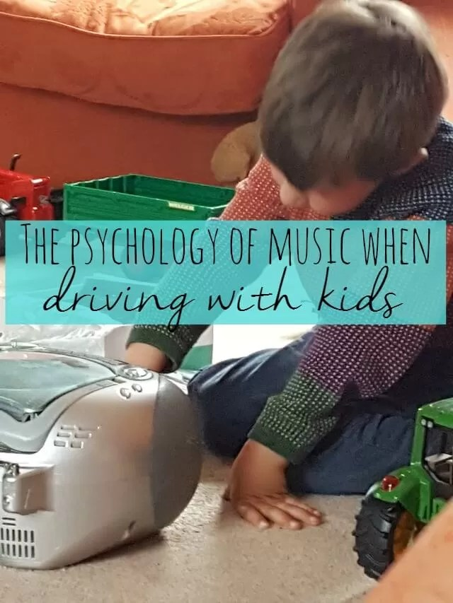psychology of music when driving with kids - Bubbablue and me