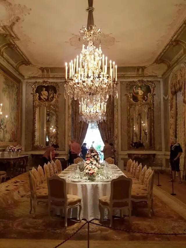 waddesdon table setting