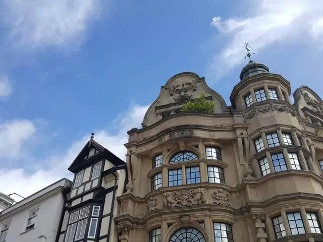 buildings in Oxford
