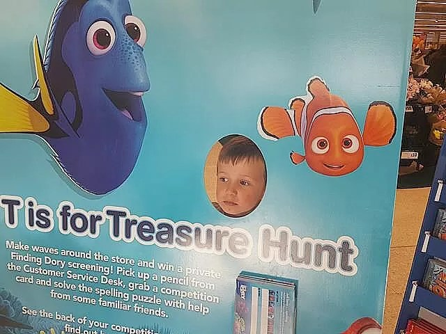 Finding Dory in Sainsburys