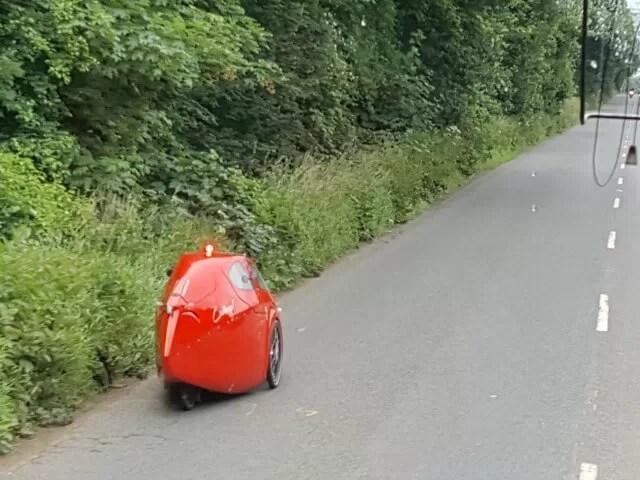 mini pedal bullet car