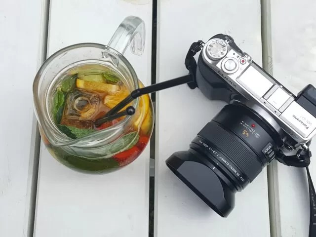 My Sunday Photo - Wrapstock Pimms and camera