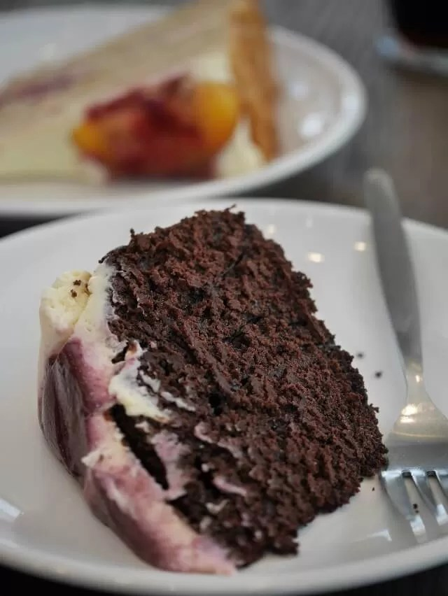 stout and chocolate cake