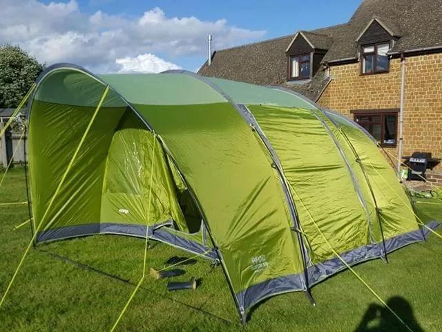 vango icaro tent set up