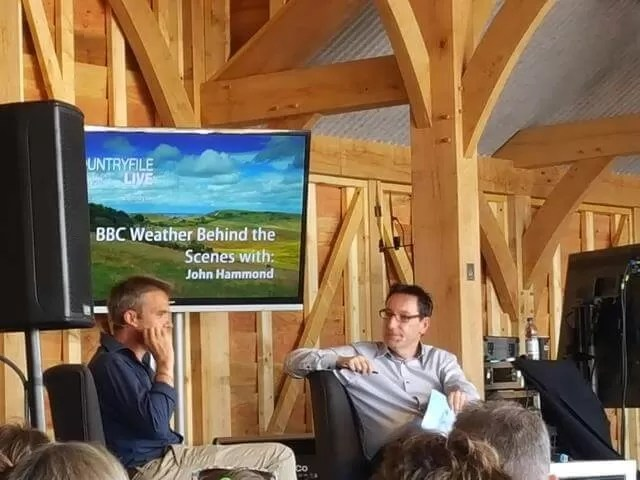 behind the BBC weeather chat with John Hammond