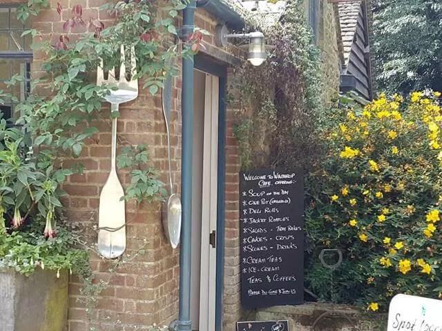 Cafe at Hidcote Gardens