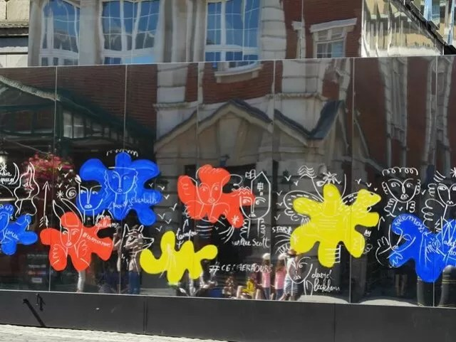 Covent Garden artwork