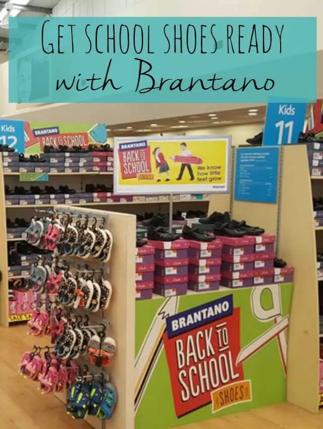 Get school shoes ready with Brantano - Bubbablue and me