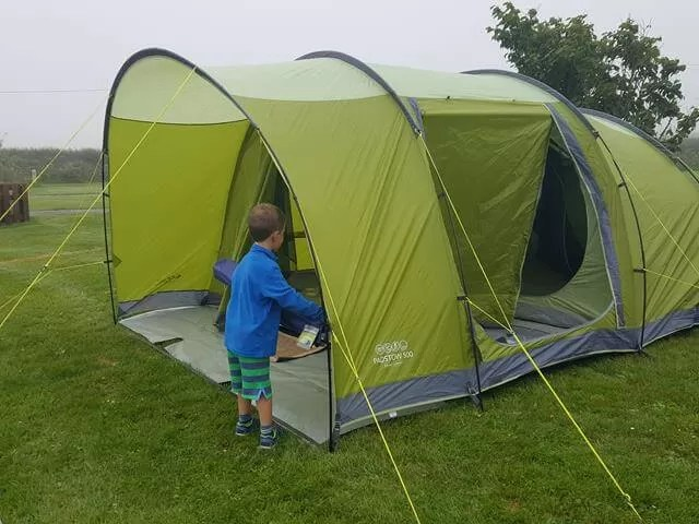Vango Padstow tent set up