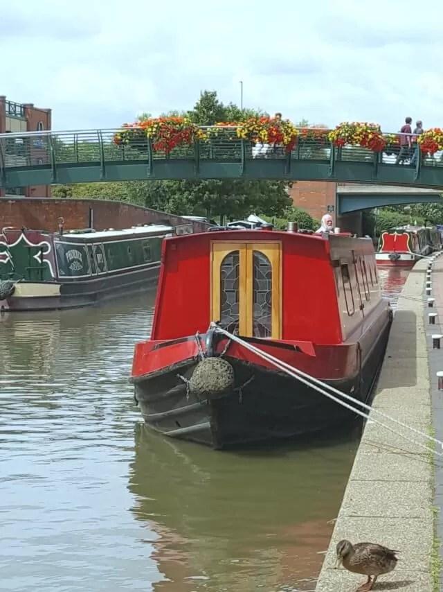 canal walk in Banbury