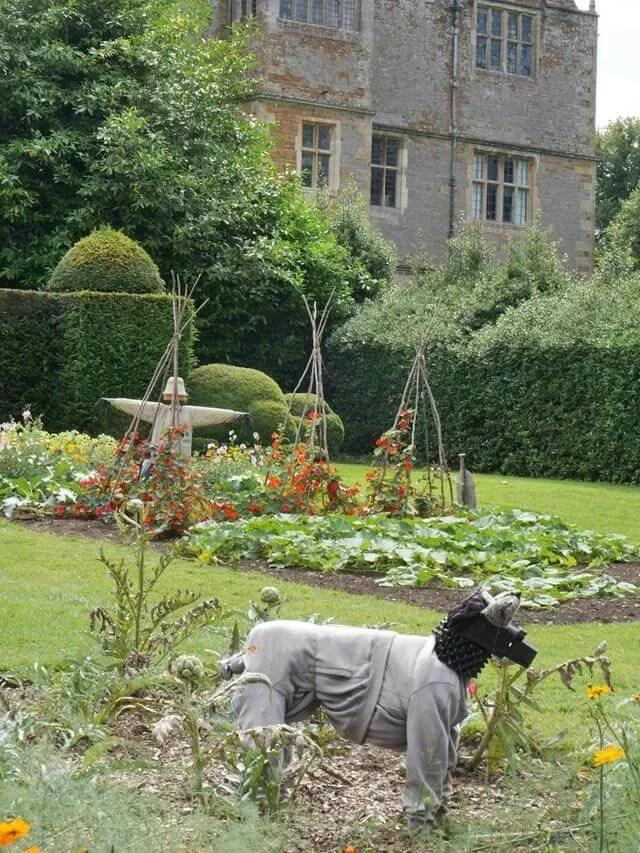 kitchen garden at Chastleton houdr