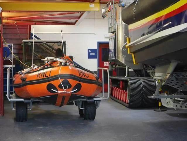 lifeboat station at ilfracombe