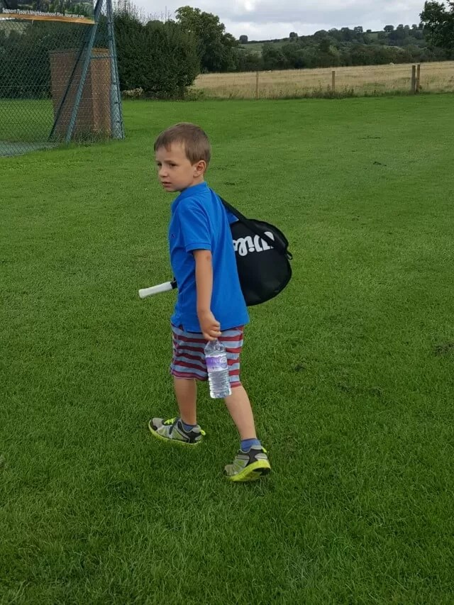 5 year old tennis player