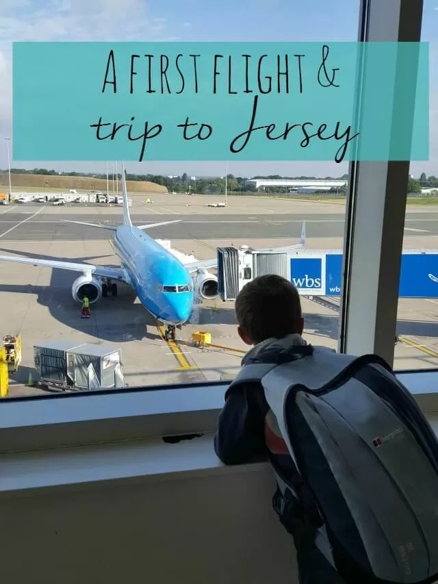 first flight and a trip to Jersey - Bubbablue and me