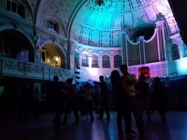 Oxford town hall ceroc freestyle