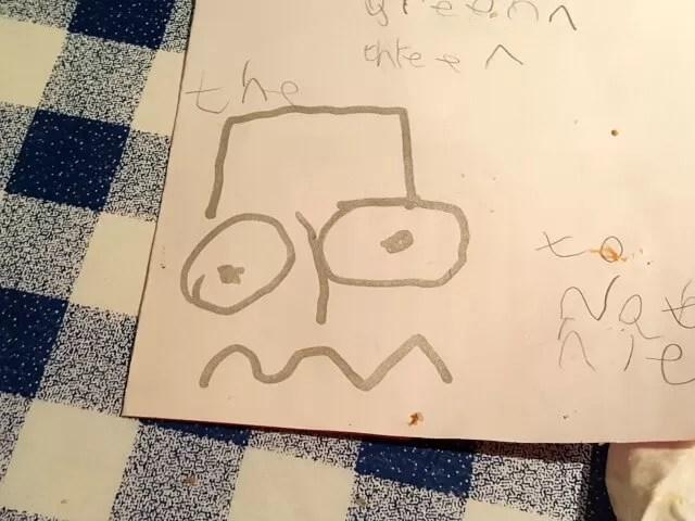 Bart simpson pumpkin face