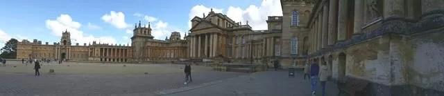 blenheim palace panorama