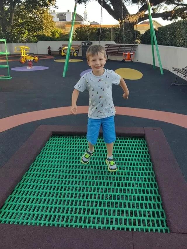 mini-trampoline-in-the-park