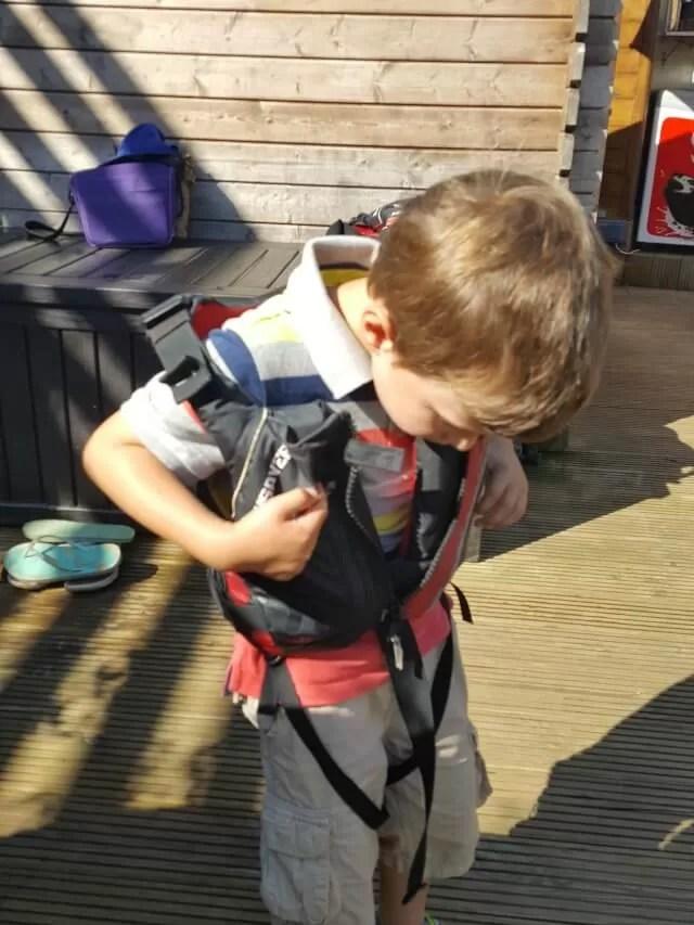 putting-on-life-jackets