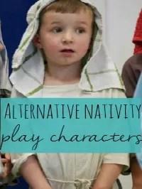 alternative nativity plays characters