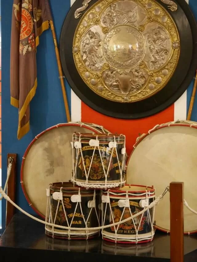 drums-in-the-museum-at-elizabeth-castle