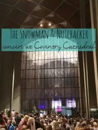 snowman at coventry cathedral