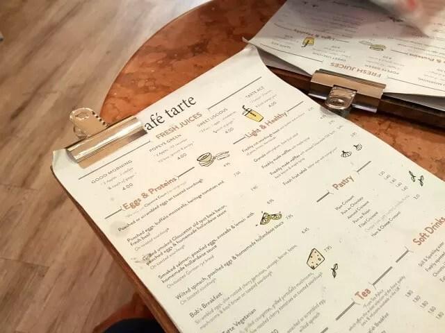 menu-at-cafe-tarte