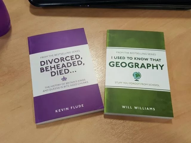 geography and history swot up books