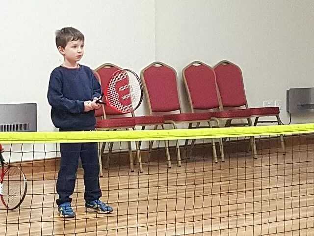 ready position in tennis