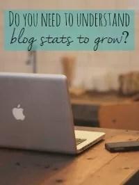 understand blog stats