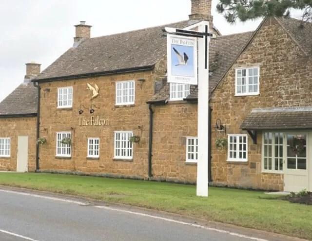 Falcon restaurant warmington