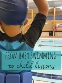 baby to toddler swimming
