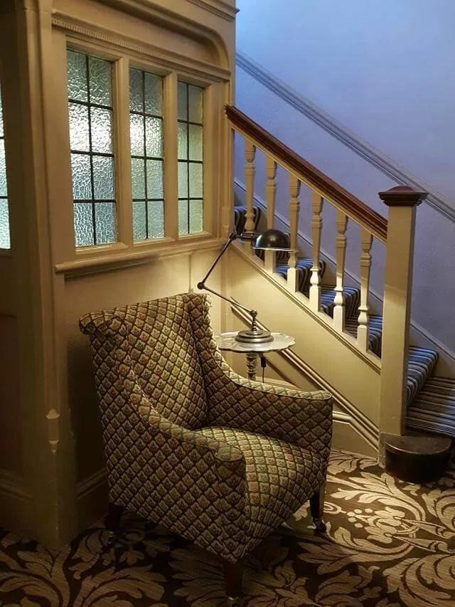 inside Crown hotel