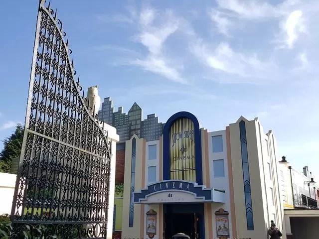 3D cinema at paultons park