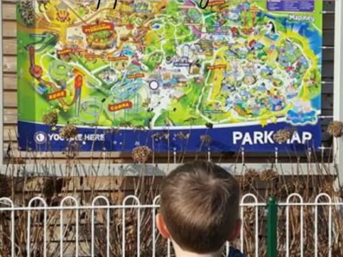 Day trip to Paultons Park and Peppa Pig World - Bubbablue and me